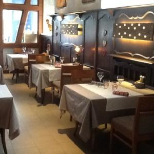 nouvelle salle du restaurant les ménétriers à ribeauvillé